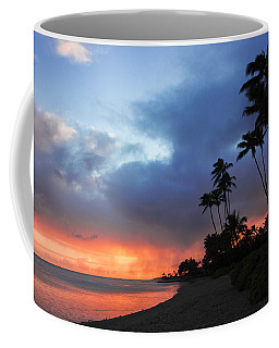 Coffee Mug featuring the photograph Kawaikui Sunset 2 by Leigh Anne Meeks