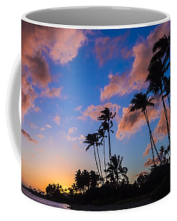 Coffee Mug featuring the photograph Kawakui Sunset 3 by Leigh Anne Meeks