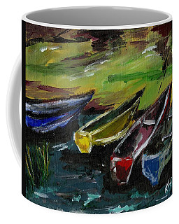 Kazinga Channel Boats Coffee Mug
