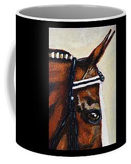 Coffee Mug featuring the painting Keen by Angela Davies