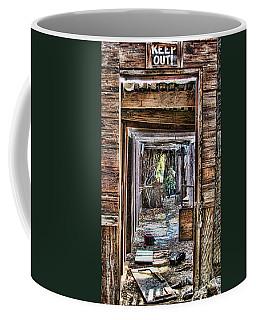 Keep Out By Diana Sainz Coffee Mug