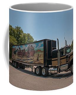 Keep Those Wheels A Truckin Coffee Mug