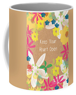 Keep Your Heart Open Coffee Mug