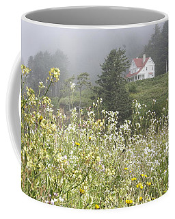 Coffee Mug featuring the photograph Keepers House by Laddie Halupa