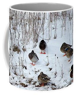 Keeping Warm Coffee Mug