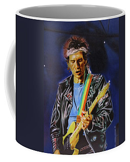 Keith Richards Of Rolling Stones Coffee Mug