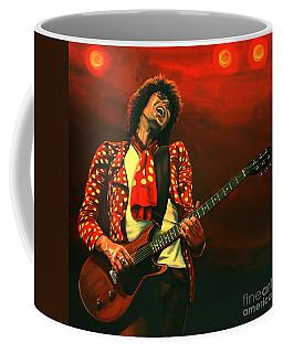 Keith Richards Painting Coffee Mug