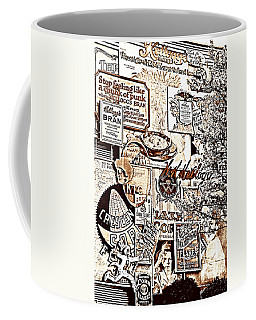 Kellogg's Wall Coffee Mug by Sennie Pierson