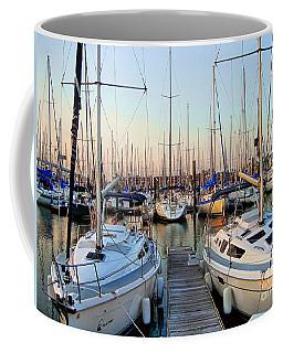 Kemah Boardwalk Marina Coffee Mug