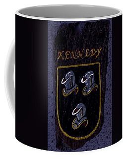 Coffee Mug featuring the painting Kennedy Crest by Barbara McDevitt
