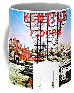 Kentile Floors Coffee Mug by Lilliana Mendez