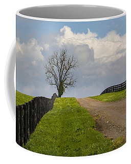 Kentucky Horse Farm Road Coffee Mug