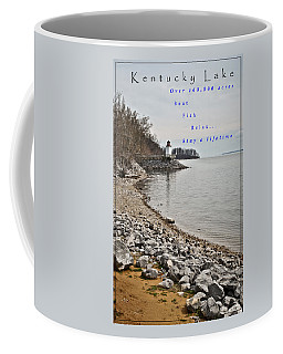 Coffee Mug featuring the photograph Kentucky Lake Inlet Lighthouse Travel by Greg Jackson