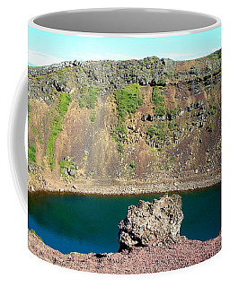 Kerio Crater Lake Coffee Mug by Kay Gilley