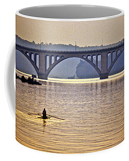 Key Bridge Rower Coffee Mug