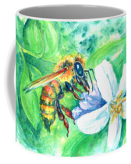 Key Lime Honeybee Coffee Mug
