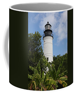 Coffee Mug featuring the photograph Key West Lighthouse  by Christiane Schulze Art And Photography