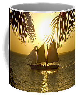 Key West Sunset Coffee Mug by Joan  Minchak