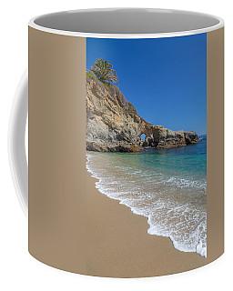Keyhole Arch Laguna Beach Coffee Mug