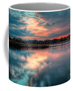 Keyport Nj Sunset Reflections Coffee Mug