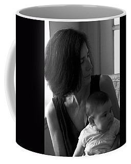 Kiara And Her Ami Coffee Mug by Joe Schofield