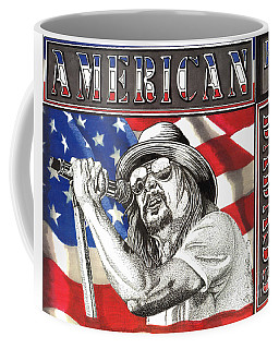 Kid Rock American Badass Coffee Mug