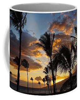 Kihei At Dusk Coffee Mug by Peggy Hughes