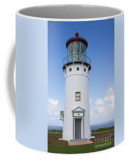 Coffee Mug featuring the photograph Kilauea Lighthouse by Suzanne Luft