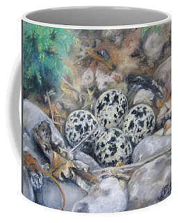 Killdeer Nest Coffee Mug