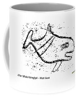 Killer Whale Petroglyph Coffee Mug