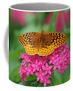 Coffee Mug featuring the photograph Kim's Bosom Buddies Support by Richard Bryce and Family