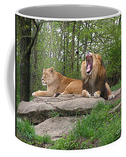 King And Queen Of The Jungle Coffee Mug