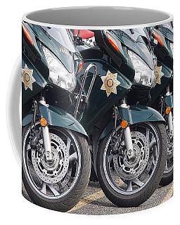 King County Police Motorcycle Coffee Mug