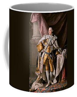 King George IIi In Coronation Robes Coffee Mug by Celestial Images