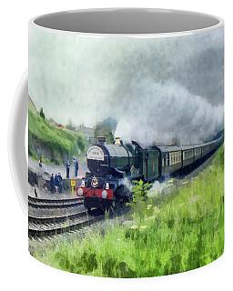 'king George V' Locomotive Coffee Mug
