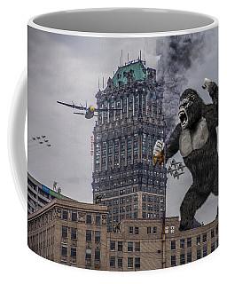 Coffee Mug featuring the photograph King Kong In Detroit At Wurlitzer by Nicholas  Grunas