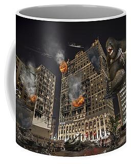 Coffee Mug featuring the photograph King Kong In Detroit Westin Hotel by Nicholas  Grunas