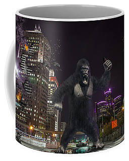 Coffee Mug featuring the photograph King Kong On Jefferson St In Detroit by Nicholas  Grunas