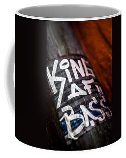 Coffee Mug featuring the photograph King Of Bass by Sennie Pierson