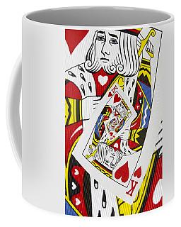 King Of Hearts Collage Coffee Mug