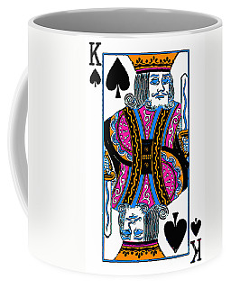 King Of Spades - V3 Coffee Mug