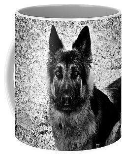 King Shepherd Dog - Monochrome  Coffee Mug
