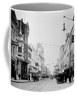 King Street In Charleston South Carolina Circa 1910 Coffee Mug
