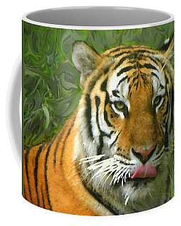 Coffee Mug featuring the photograph Kisa Painted by Sandi OReilly