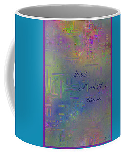Kiss Of Mist Haiga Coffee Mug