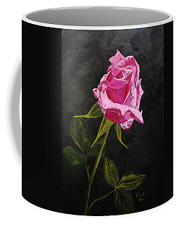 Kiss Of The Morning Sun Coffee Mug by Wendy Shoults