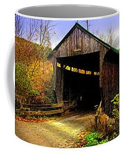 Coffee Mug featuring the photograph Kissing Bridge by Bill Howard