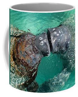 Kissing Manatees Near Harbour Island Coffee Mug