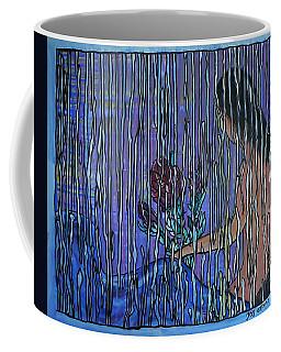 Kissing Rain Coffee Mug