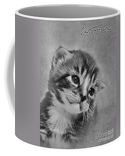 Kitten Just For You Coffee Mug by Terri Waters